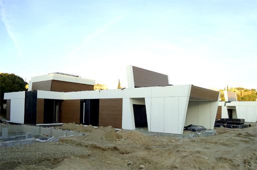 Comienza el montaje de viviendas en la finca las marias de - Viviendas en torrelodones ...