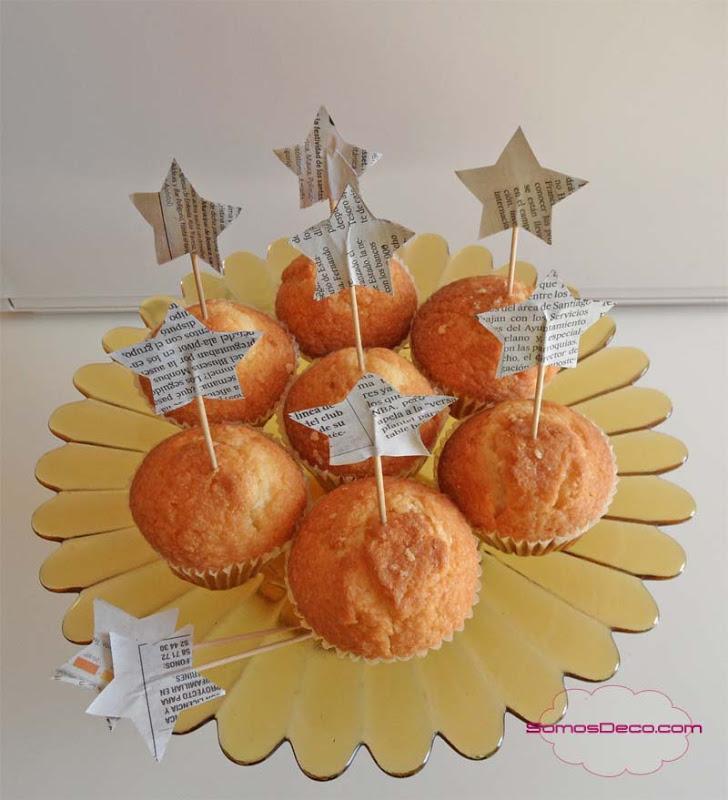 Palillos con estrellas para decorar en navidad paperblog - Decorar estrella navidad ...