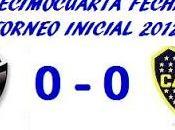 Colón:0 Boca Juniors:0 (Fecha 14°)