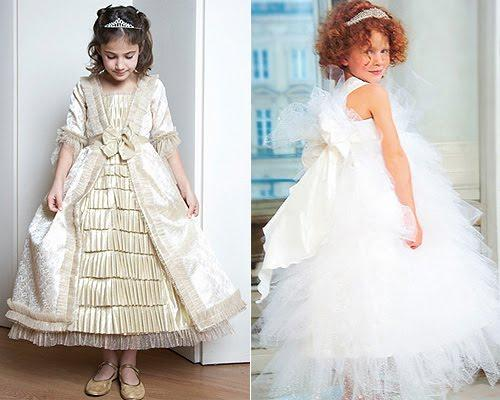 Fotos de vestidos de princesas para la fiesta de su niña