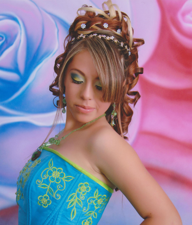 Encantador imagenes de peinados Imagen de estilo de color de pelo - Fotos de peinados para tu fiesta de quince años. - Paperblog