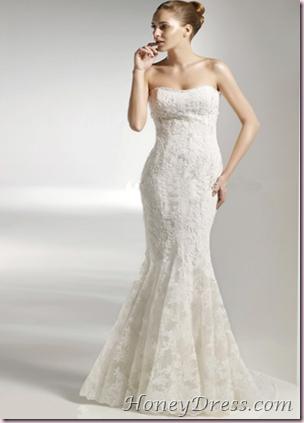 Fotos de vestidos de novia entallado al cuerpo - Paperblog