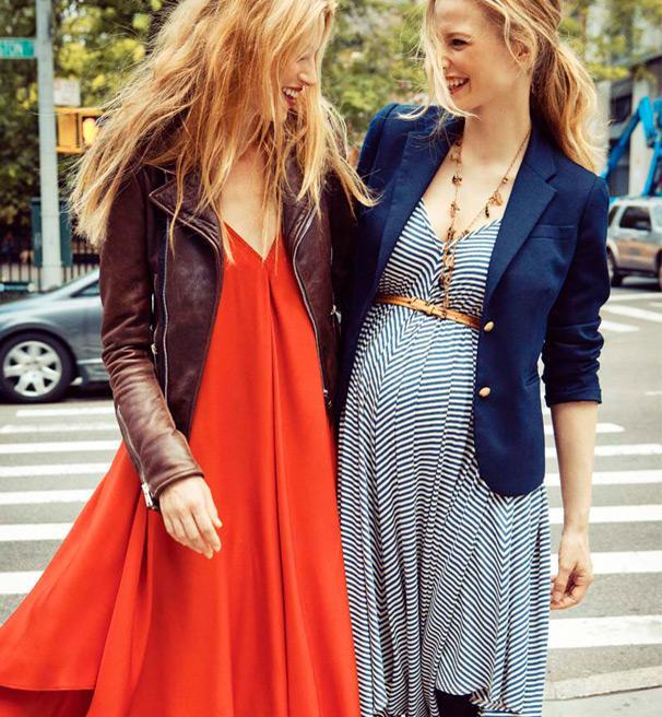 Outfits de Moda para Embarazadas 2015 - YouTube