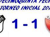 Boys:1 Colón:1 (Fecha 15°)