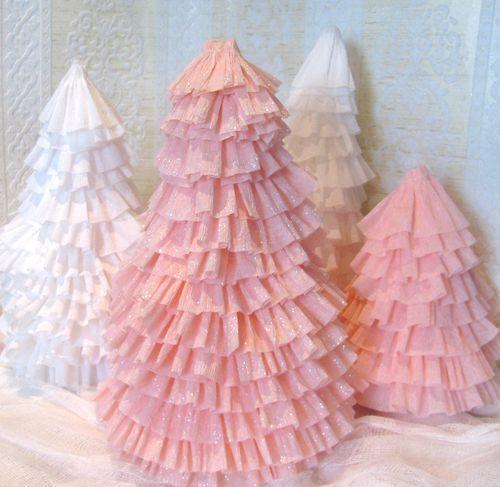 rboles de navidad de origami y ms