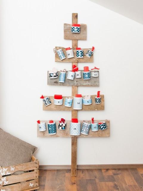 Rboles de navidad hechos con palets paperblog - Arbol de navidad hecho en casa ...
