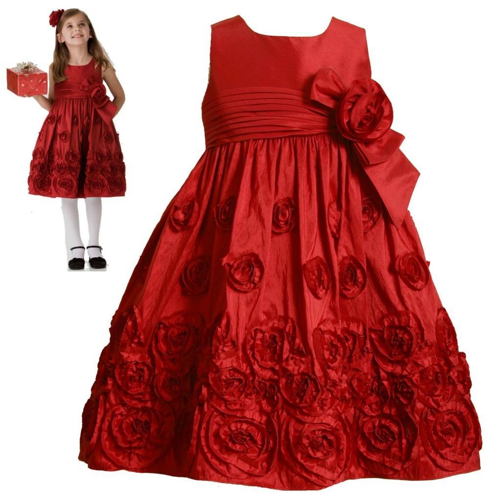 fotos de vestidos de nias para navidad