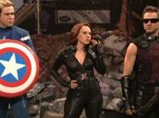 'SNL' parodia 'Los Vengadores' Jeremy Renner