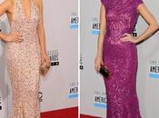 mejor vestidas American Music Awards 2012