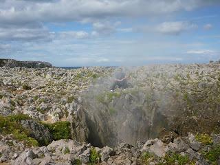 Bufones de Pría, capricho de la naturaleza en Asturias