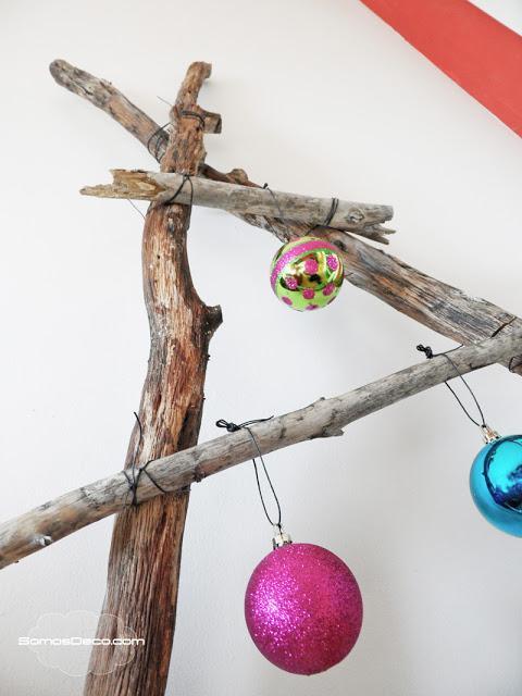 Un rbol original de navidad paperblog for Como hacer un arbol de navidad original