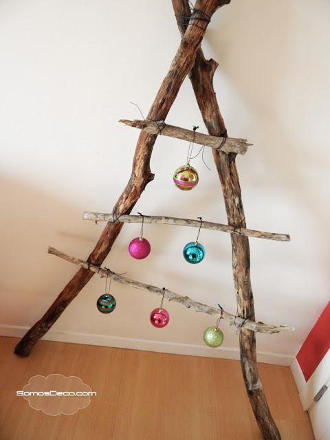 Un rbol original de navidad paperblog - Hacer arbol de navidad original ...
