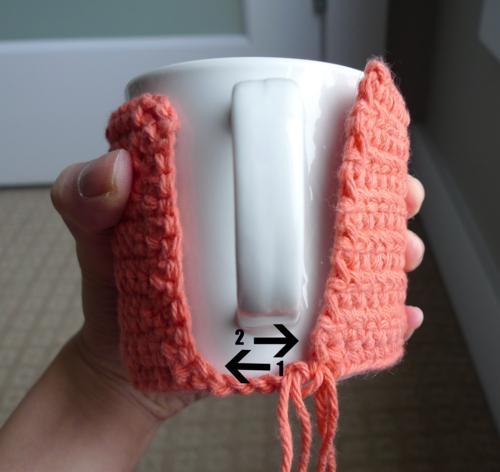 Fundas de ganchillo para tazas