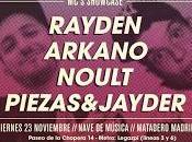 Bull Studio presenta: MCs' Showcase, viernes noviembre, Nave música (Matadero Madrid)