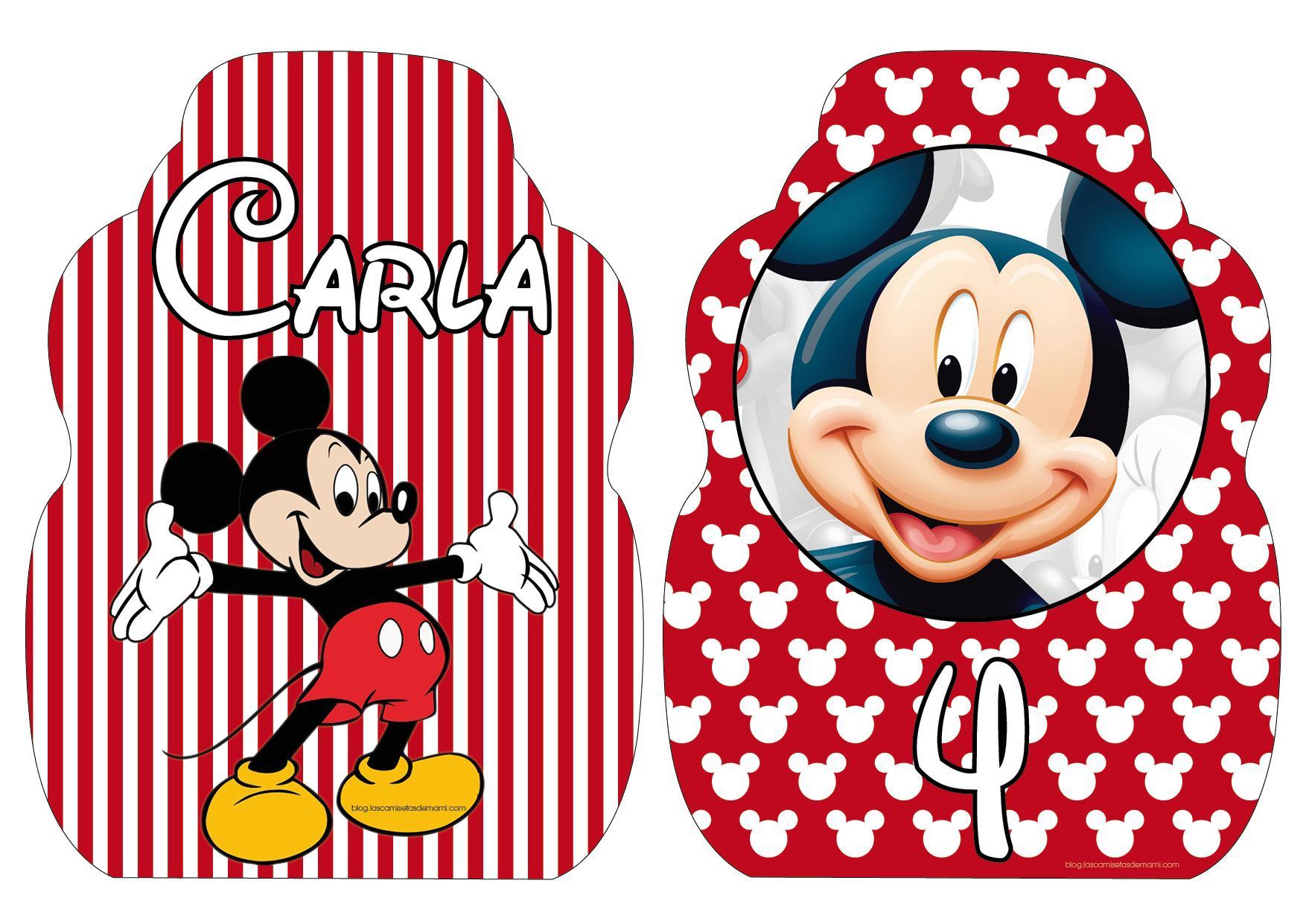 Imagenes Para Cumple Anos De Mickey Mouse