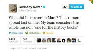 Curiosity y la detección de vida