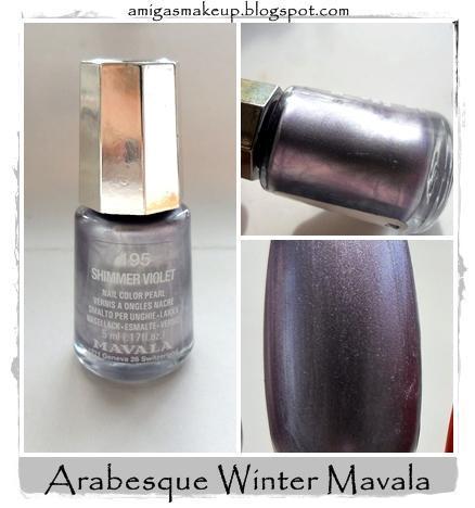 Colección Arabesque Winted 2013 de Mavala