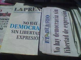 Malos tiempos para la prensa en Bolivia