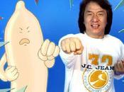 Jackie Chan ayuda prevenir preservativo karateka