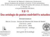 Presentación 12+1 Ateneo Madrid