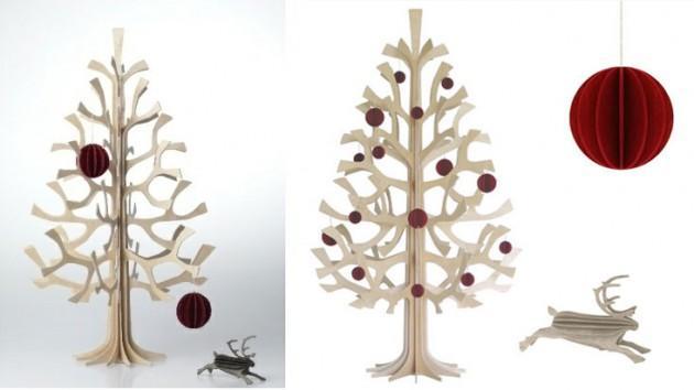 Rboles de navidad con mucho estilo paperblog - Arbol navidad diseno ...