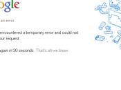 Queda Google casi hora fuera servicio