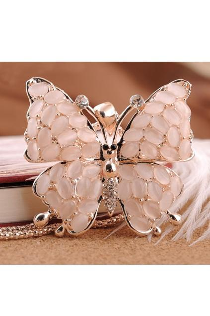 Butterfly-Pendant-Necklace