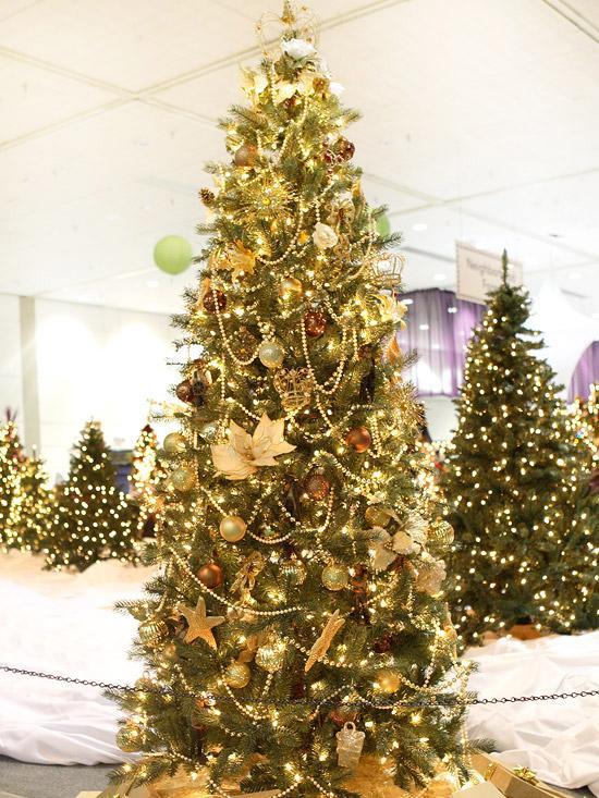 estos son los colores de moda para decorar esta navidad with arbol navidad decorar