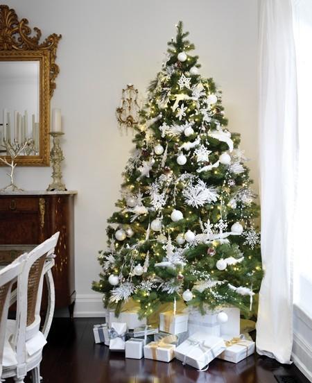Decora tu rbol de navidad paperblog - Decoracion para arboles de navidad blancos ...