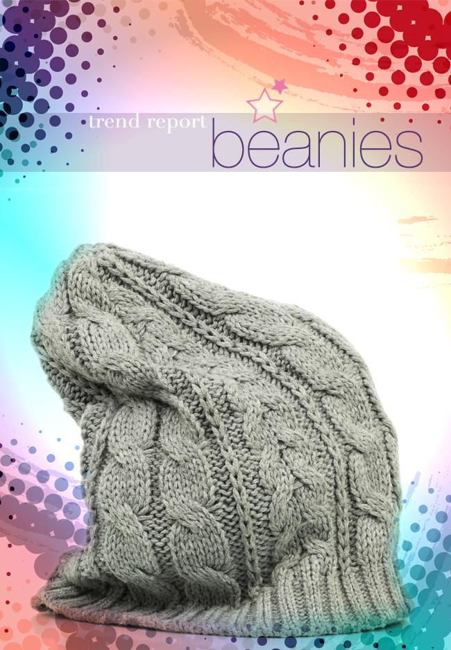 trend report... beanies