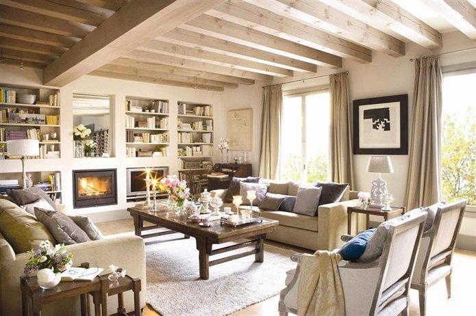 salones con calor de hogar paperblog