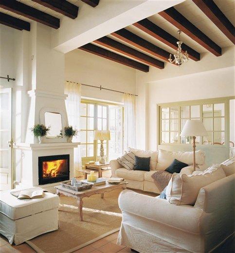 Salones con calor de hogar paperblog for Salones con chimenea