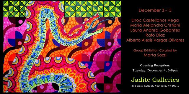 Convite: International Art Jadite Gallery / Opening : Tuesday, December 4, 6-8pm‏