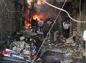 bombas cerca muertos barrio cristiano Damasco