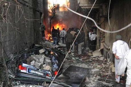 Dos bombas con cerca de 60 muertos en barrio cristiano de Damasco