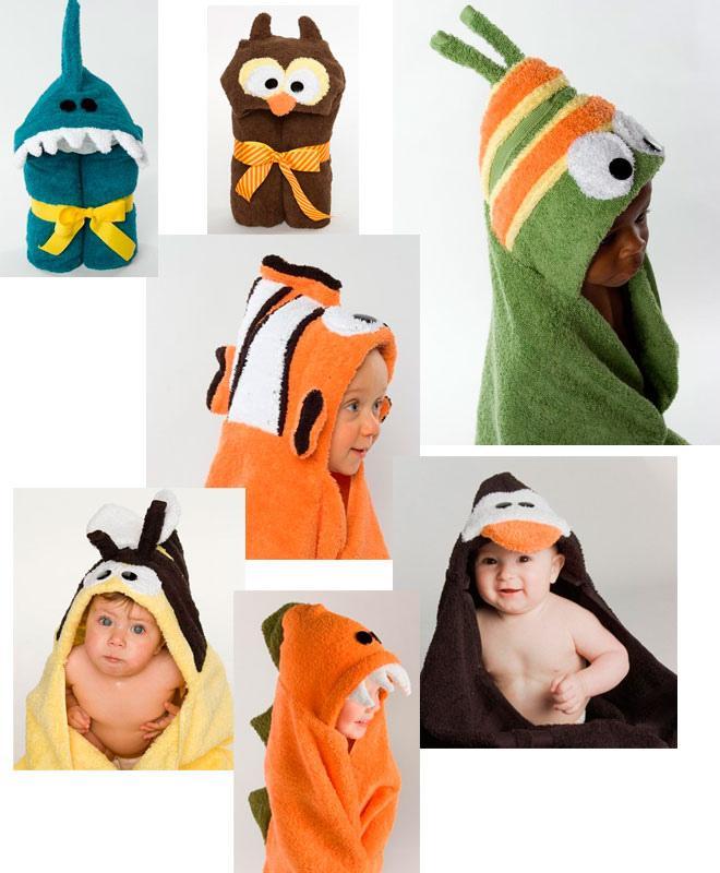 Accesorios De Baño Para Bebes:Capas De Baño Divertidas Para Bebés Pictures to pin on Pinterest