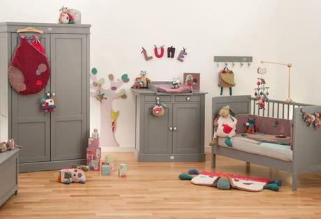 Moulin Roty, mobiliario y complementos para la habitación del bebé