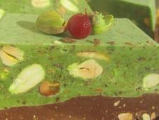 Turrón pistachos