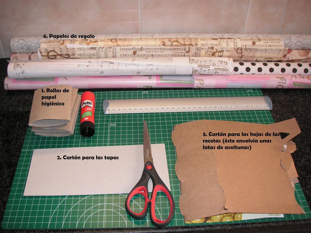 Mini libro de cocina para hacer con ni os paperblog - Libros de cocina para ninos ...