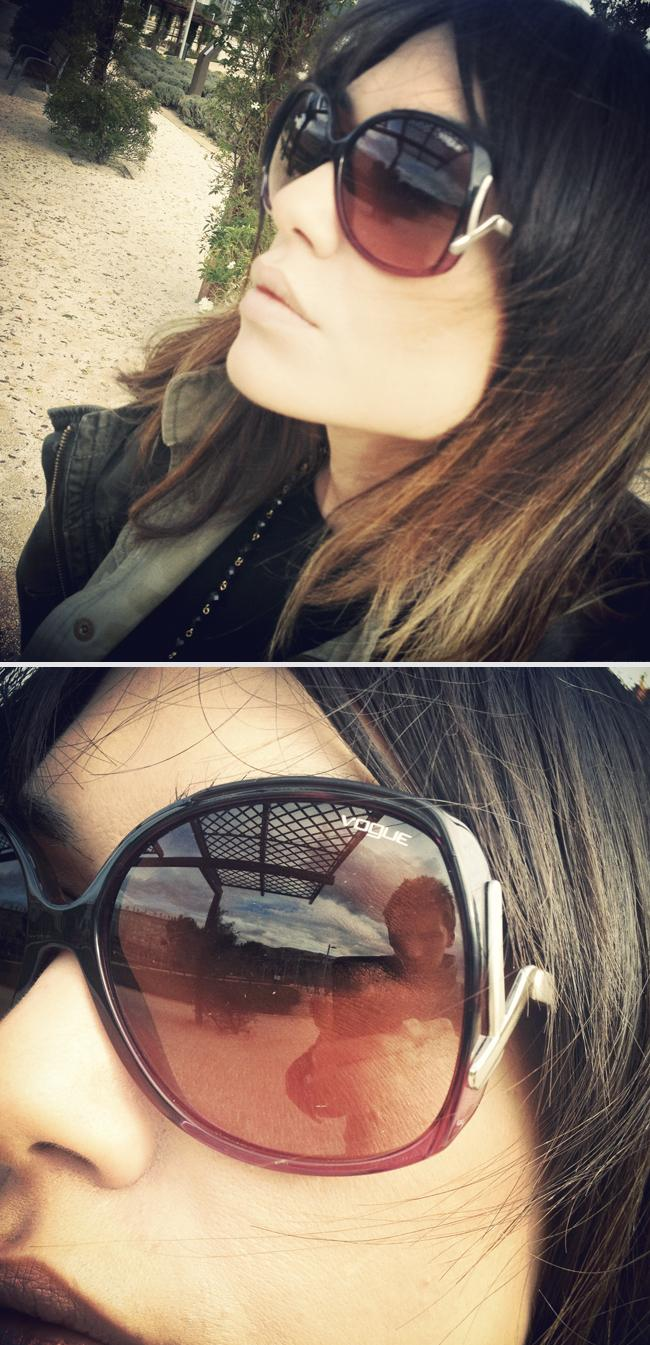 instalooks ♥ my new vogue sunglasses