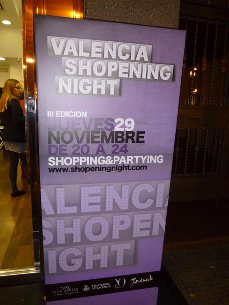 SHOPENING NIGHT VALENCIA III EDICIÓN