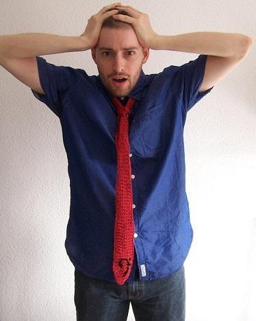 Diario de un tejedor 11: la corbata musical
