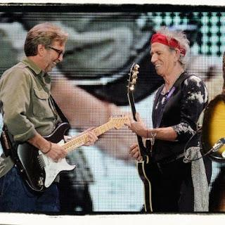 THE ROLLING STONES 2012 con ERIC CLAPTON