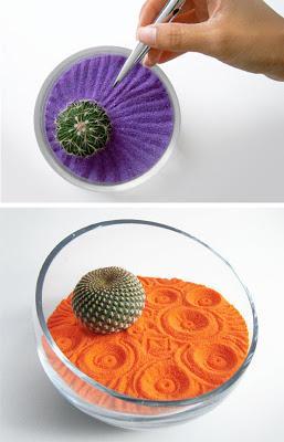 Jardines zen con arena de colores paperblog - Arena de colores ...