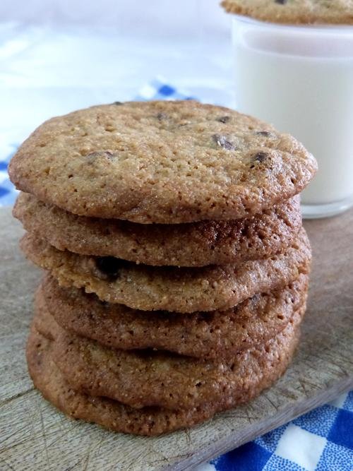 innovando | chocolate chips cookies sin tacc