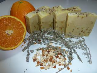 Jabón de Naranja y Tomillo