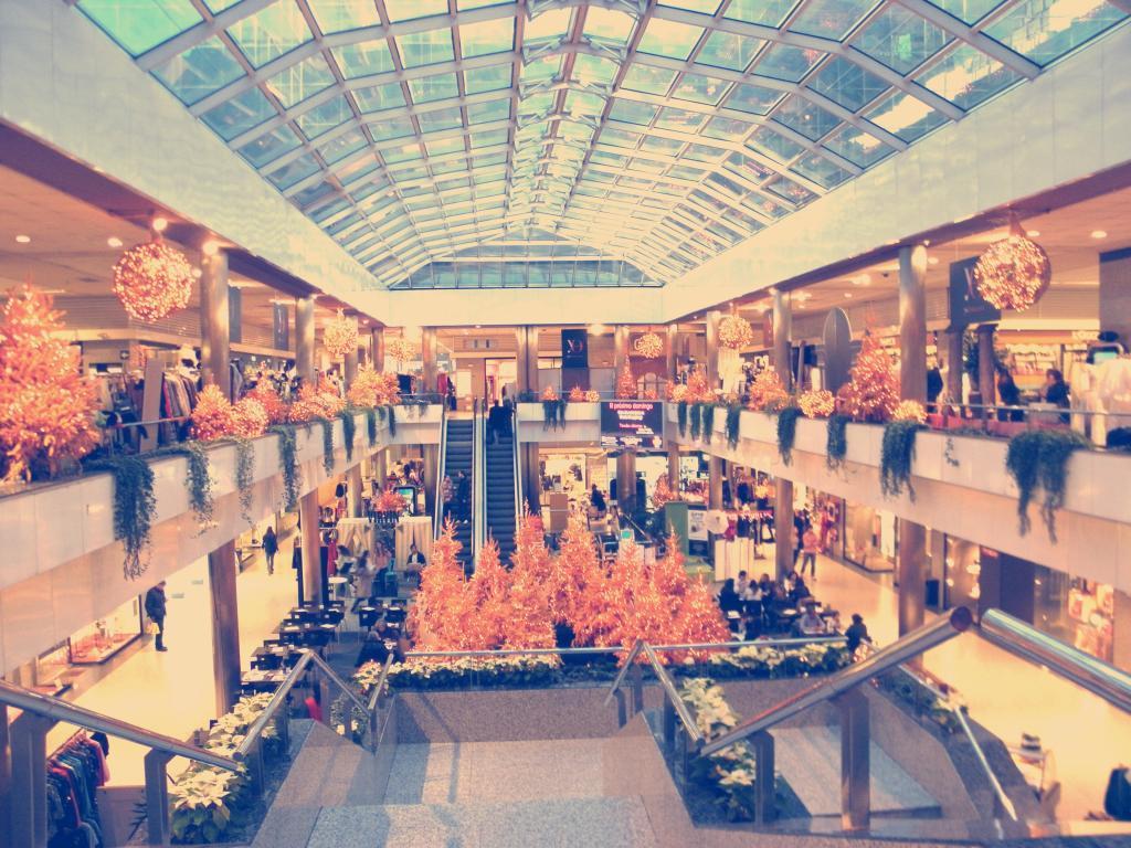 Feria vintage en moda shopping paperblog - Centro comercial moda shoping ...