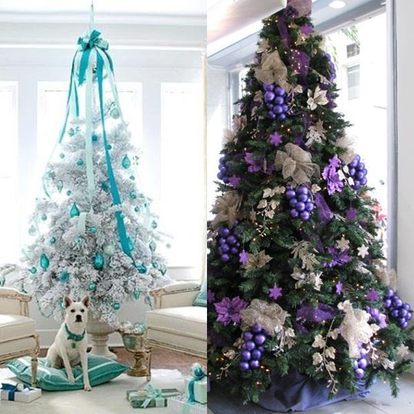 Eligiendo colores para el rbol de navidad paperblog - Fotos arboles navidad decorados ...