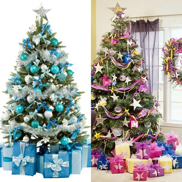 Eligiendo colores para el rbol de navidad paperblog - Como adornar arbol de navidad ...