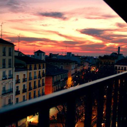 las mejores vistas de la capital en la terraza casa
